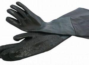 Sandstrahlhandschuhe Neu 600mm Lang für SB 220/350/4