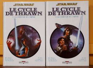 Star Wars Le cycle de Thrawn hardcovers Éditions Delcourt 2005