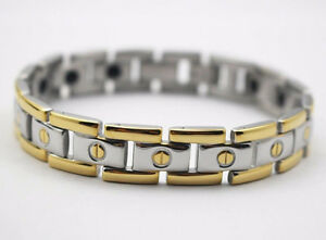 18K Yellow Gold Plated Germanium Power Engergy Bracelets NEW