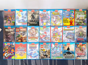 Nin tendo WII U Games   ( Pick Up Only & Price in Photo    )