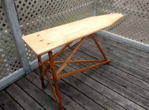 Vintage 1930s Wooden Ironing Board