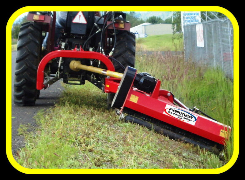 Boom mounted ditch / bank FLAIL MOWER - NEW