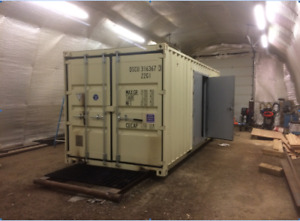 Shipping/Storage Container Modification or Alteration