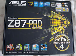 Asus Motherboard  Z87-PRO VEdition