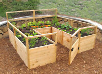 Do you want a raised garden in your yard or on your balcony?