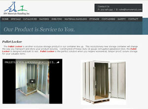 PALLET LOCKER OFFERS SECURE STORAGE & SHIPPING OF YOUR PRODUCTS Kitchener / Waterloo Kitchener Area image 2