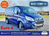 2017 Ford Transit Custom 270 LIMITED 130ps Panel Van Diesel Manual