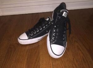 Black Suede Converse