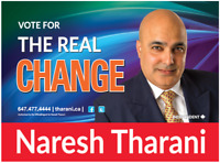 Be a part of the REAL CHANGE in Brampton. Volunteer NOW.