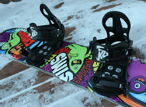 Sims Snowboards with K2 Bindings London Ontario image 3