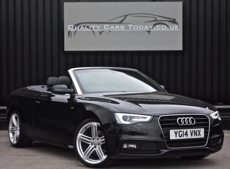 Audi A TDI Ps S Line Special Edition Convertible - Audi a5 convertible