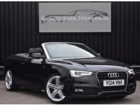 2014 Audi A5 2.0 TDI ( 177ps ) S Line Special Edition Convertible Automatic