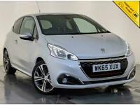 2015 65 PEGUEOT 208 GTI LEATHER INTERIOR PARKING SENSORS 208 BHP SERVICE HISTORY