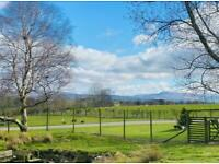 2 bedroom holiday home with decking on a scenic and peaceful holiday Park