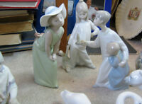 LLADRO FIGURINES STARTING $35.00 TO $50.00
