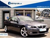 2007 07 BMW 325i 2.5 Auto SE Coupe Metallic Grey with Cream