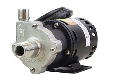 Chugger Pumps CPSS-CI-1 Brewing Stainless Steel Home Brew Beer Pump 115V Center!