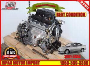 Moteur et transmission automatique Honda Civic 01-05 D17A1, D17A