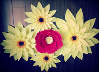 Elegant Hand-Made Paper Flowers for All Occasions