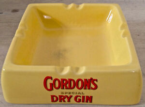Vintage. Collection. Cendrier GORDON'S special DRY GIN