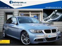 2010 10 BMW 330d 3.0 M Sport Paddleshift Auto Saloon Silverstone Blue | iDrive