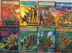 Qty 8 x Animorhhs Chapter Books # 18, 19, 21, 23-27