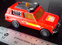 MATCHBOX SPEED KINGS MODEL No K-64 RANGE ROVER FIRE CONTROL Longueuil / South Shore Greater Montréal Preview