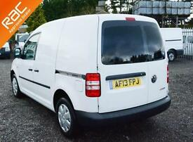 2013 13 VOLKSWAGEN CADDY 1.6 C20 PLUS TDI 102 1D 101 BHP DIESEL PANEL VAN