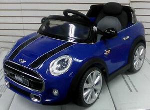 Brand New Mini Cooper Child Ride On with Remote Controller more