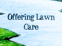 Offering Lawn Care