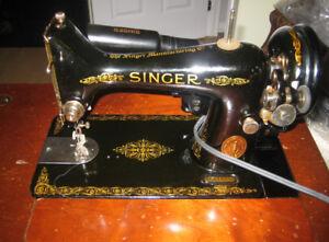 Moulin à coudre Singer de 1950