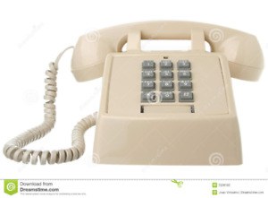 VINTAGE BELL TOUCH TONE DESK TELEPHONE (VGC)