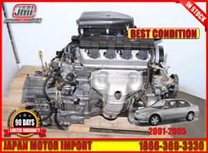 Honda Civic 01 02 03 04 05 D17A1 Engine Automatic Transmission