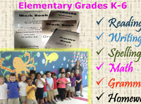 English Reading, Writing, Spelling & Grammar help for K-6 grades