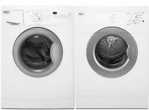 24'' White Washer/Dryer Combo, Front load [Whirlpool]