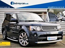 2012 62 Land Rover Range Rover Sport 3.0 SDV6 255 Auto Autobiography Baltic Blue