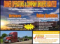 Looking for Professional, Safety Minded AZ Drivers & O/O's