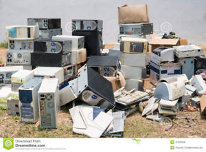 Reuse/Repair/Recycle, I want Your Old Electronics/TV's/Computers