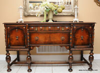 Antique Sideboard / Buffet by Anthes Baetz
