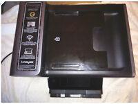 Lexmark prestige Pro805 All in one printer - scan, print, copy - WIFI. Digital touchscreen