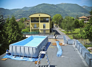 Swimming pool hand rail ebay for Gartenpool ebay