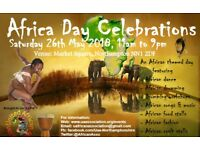 Artists wanted for Africa Day event May 2018