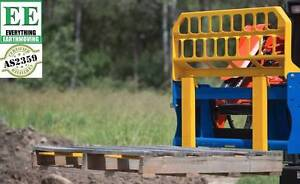 1800kg pallet forks call Everything Earthmoving 1300 43 44 33 Wetherill Park Fairfield Area Preview