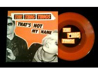 The Ting Tings ‎– That's Not My Name, 7 inch single, released ‎in 2008, Indie Pop Rock