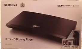 Samsung ultra hd blu ray player including 3 films, brand new