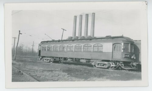 1930s Lake Shore Electric Railway #166 Streetcar Interurban Trolley Ohio OH