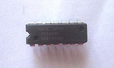 New Upc458c Dip-14 Quad Operational Amplifier