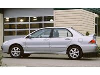 Mitsubishi saloon. Bought 1 year ago from dealership. Very reliable