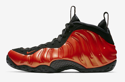 1502f00634636 2018 Nike Air Foamposite One Habanero Red Black Size 11.5. 314996-603. Penny
