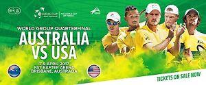 Davis Cup Bris. Australia v U.S.A. Great seats! Pre-sale tickets! Reedy Creek Gold Coast South Preview